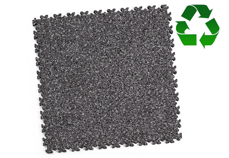 "DALLE PVC ""INDUSTRY GRANITE"" ÉCO-RECYCLÉ GRIS"