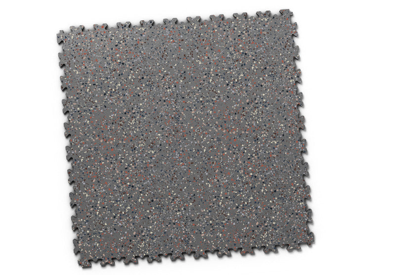 "DALLE PVC ""INDUSTRY GRANITE"" GRAPHITE"