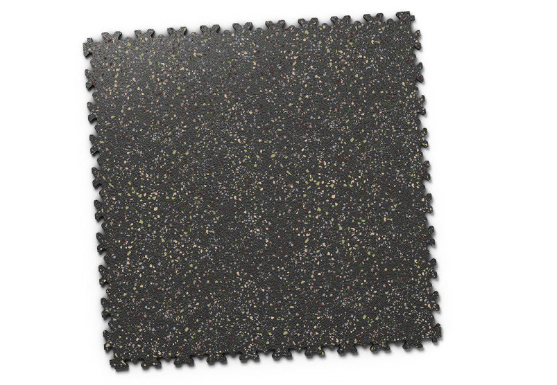 "DALLE PVC ""INDUSTRY GRANITE"" NOIR"