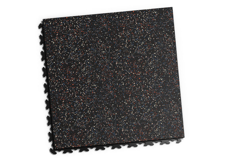 "DALLE PVC ""GRANITE"" NOIR - JOINTS INVISIBLES"