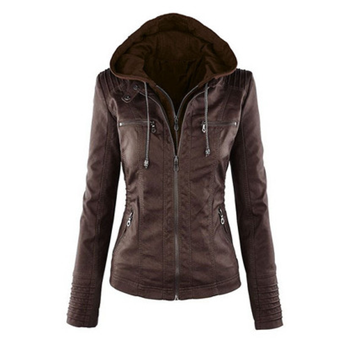 🏆 2019 New Leather Jacket women's 🏆