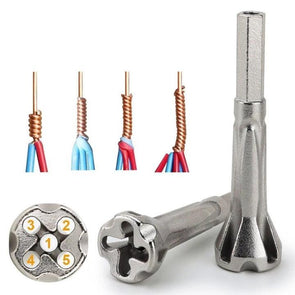 4 and 5 Square Cable wire stripping and twisting tool