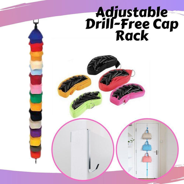 Adjustable Drill-Free Cap Rack