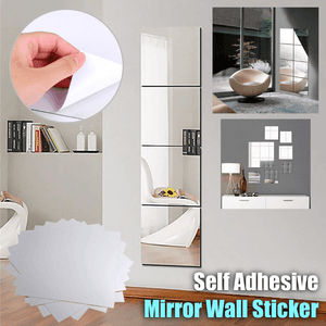 DIY Self Adhesive Mirror Wall Sticker