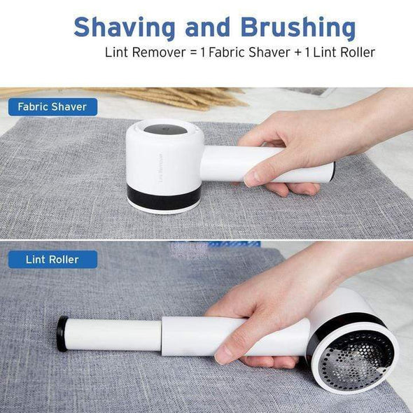 2-in-1 Rechargeable Defuzzer Fuzz Pill Ball Remover