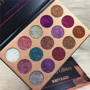 Luxury 15 Color Eye shadow Palette