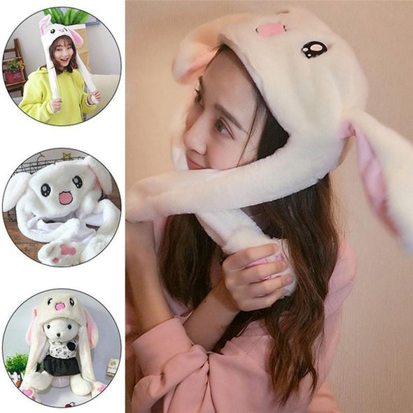Funny Ear Moving Jumping Bunny Hat