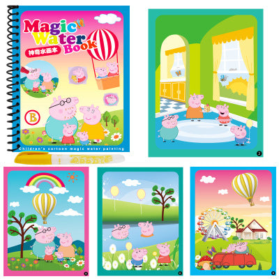 Magical Water Painting Books