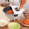 Rotating Vegetable Cutter and Washer