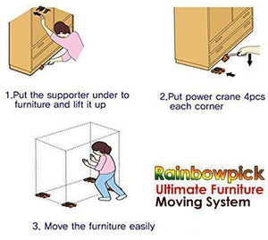 Lift and Move Furniture Helper Tool