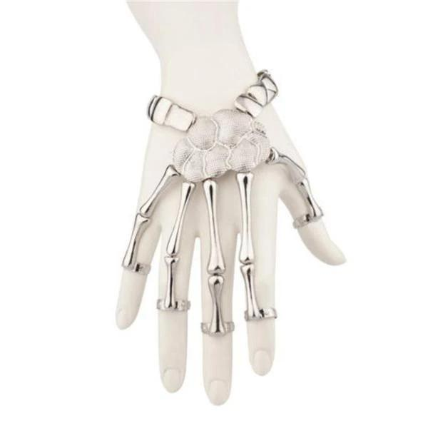Loopymall Skeleton Hand Bracelet (Adjustable Size) 2020 Christmas Halloween Gift