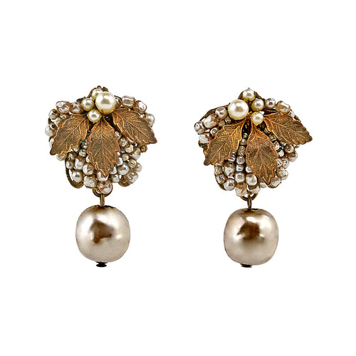 Miriam Haskell Divine Vintage Earrings