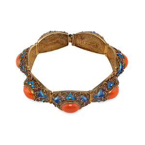 Vintage Oriental Bracelet Collection