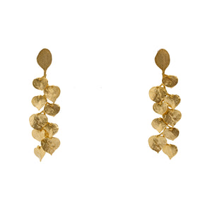 Earrings Golden Fall Leaves