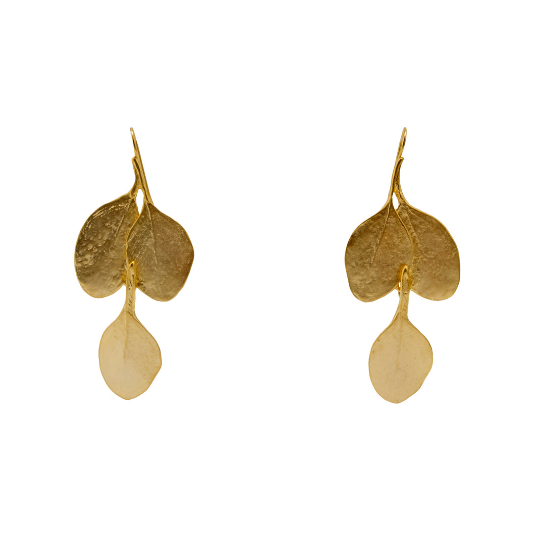 Earrings Golden Fall