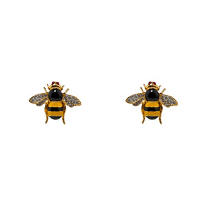 Earrings Bumble Bee