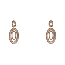 Load image into Gallery viewer, Earrings Baguette Duet
