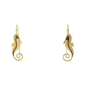 Earrings Henry Seahorse