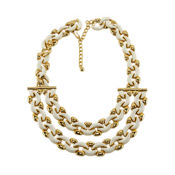 Necklace Double Linked Chain
