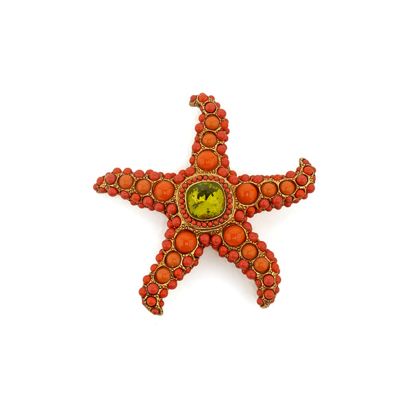 Brooch Starfish Duet
