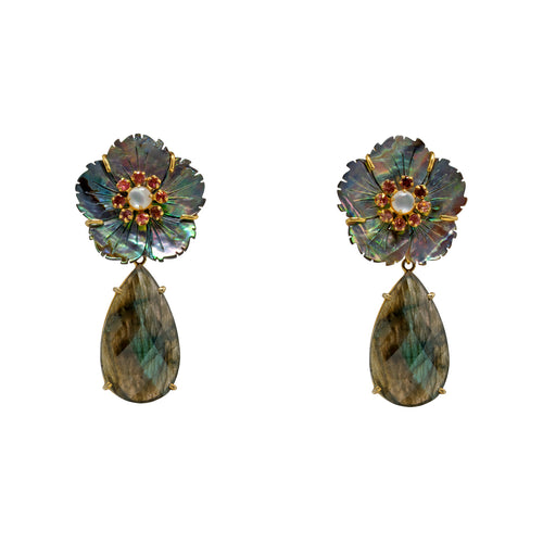 Semi-Precious Alana Earrings