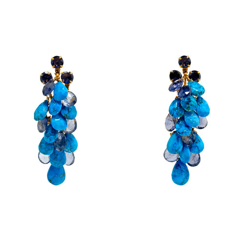 Semi-Precious Anna Earrings