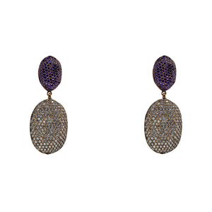 Earrings Champagne Mix
