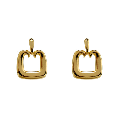 Earrings Gold Attraction