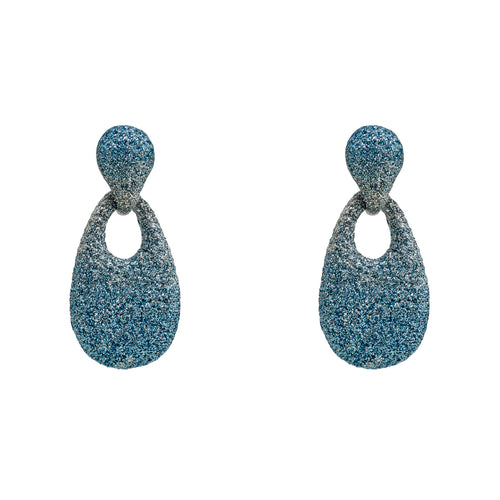 Earrings Blue drift