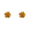 Earrings Golden Floral