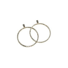 Load image into Gallery viewer, Earrings Hannah Baguette Hoops