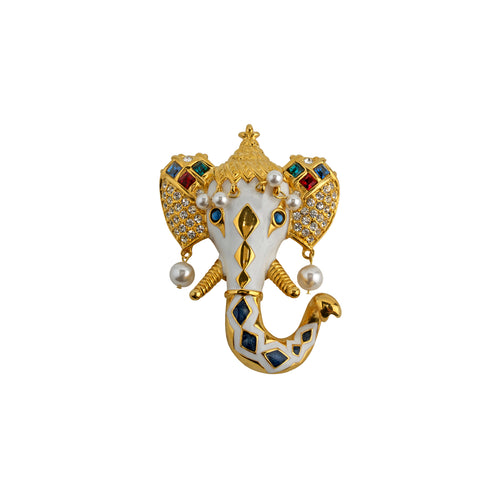 Brooch Elephant Royal
