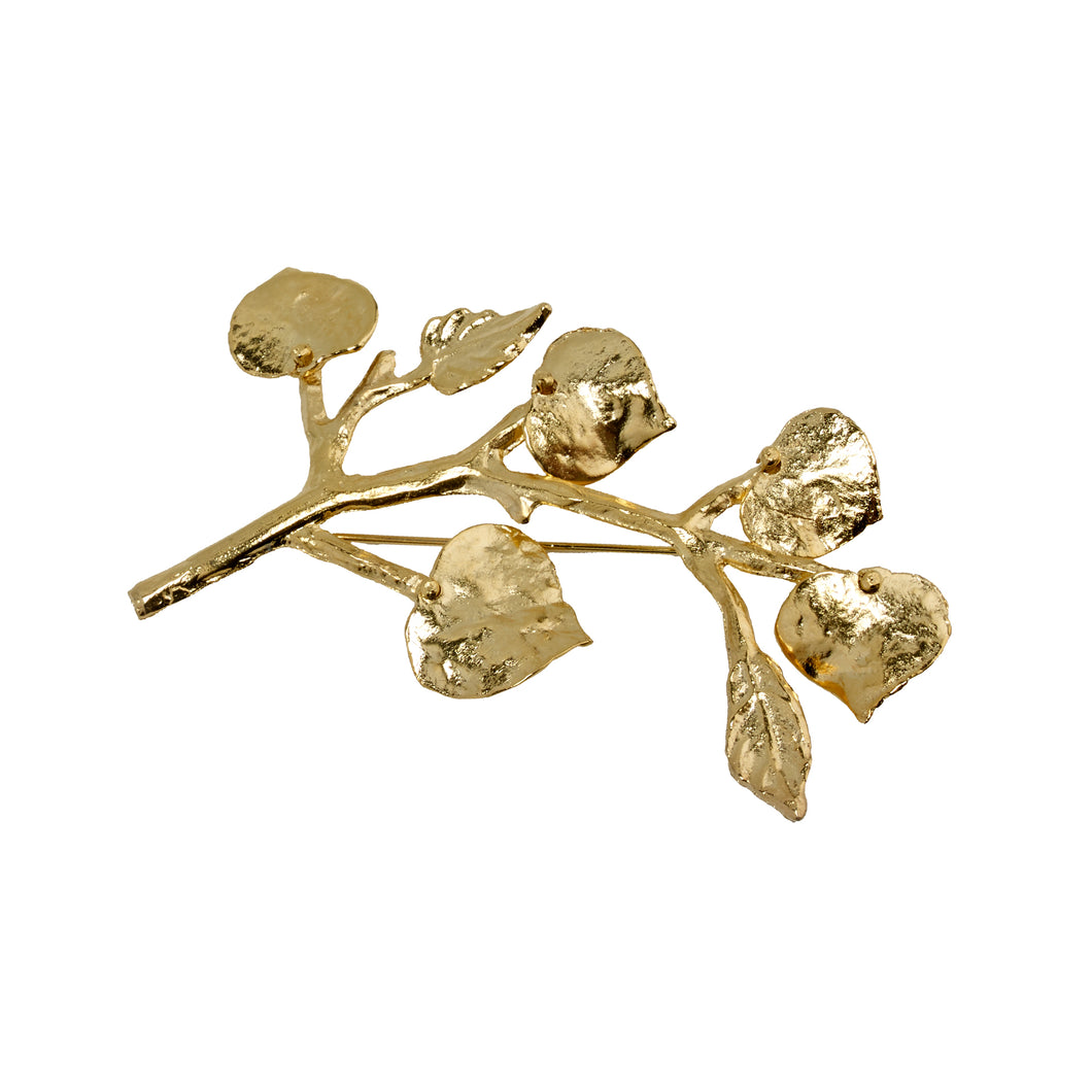 Brooch Gold Branch