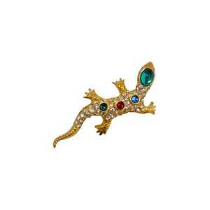 Brooch Little Lizard