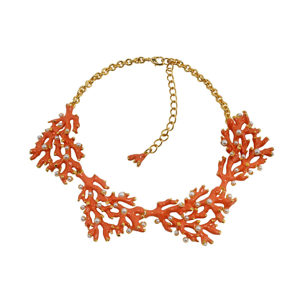 Necklace Coral and Pearl Reef