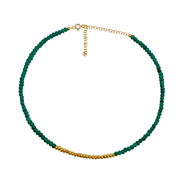 Necklace sm green