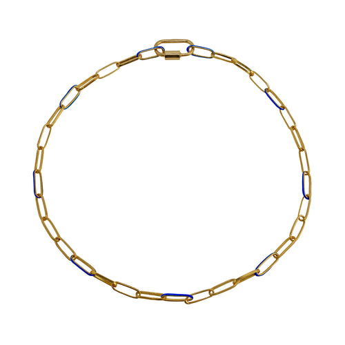 Chain Gold and Blue