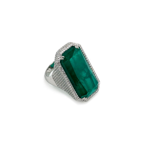 Ring Emerald Green