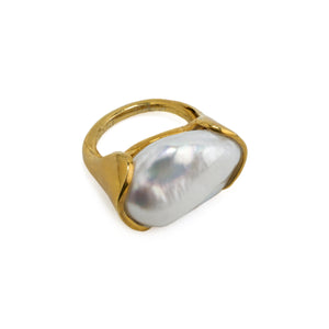 Ring Baroque Pearl