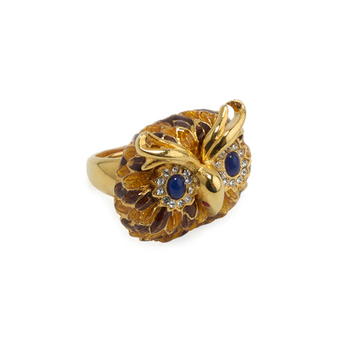 Ring Owl in Brown