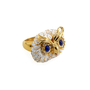 Ring Owl in White