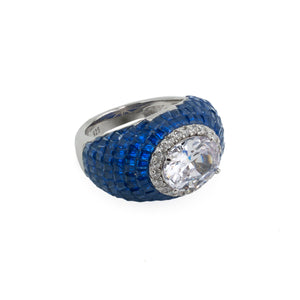 Rings Emerald or Blue Sapphire
