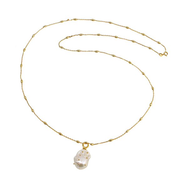 Necklace Pearl drop