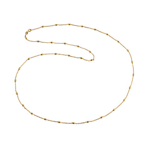 Chain Gold Interspaced