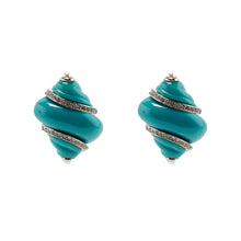 Load image into Gallery viewer, Earrings Shells in Colour