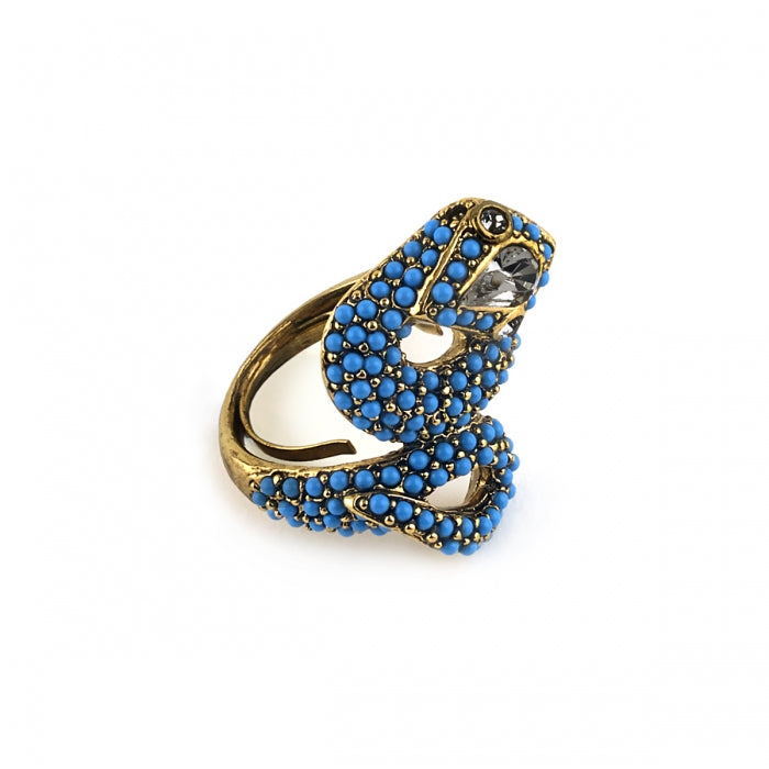 Snaky Serpent Ring