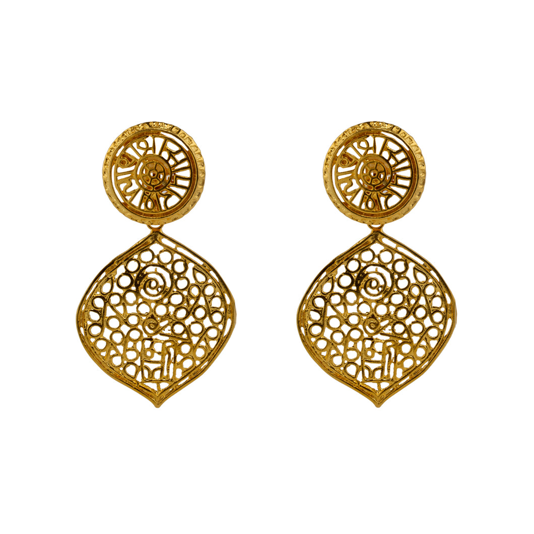 Earrings Arabian Nights