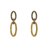 Earrings Gold and Silver Links