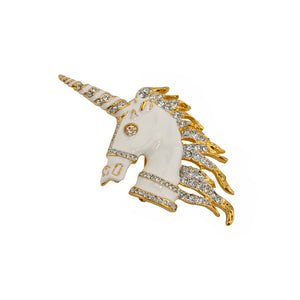 Brooch Unicorn