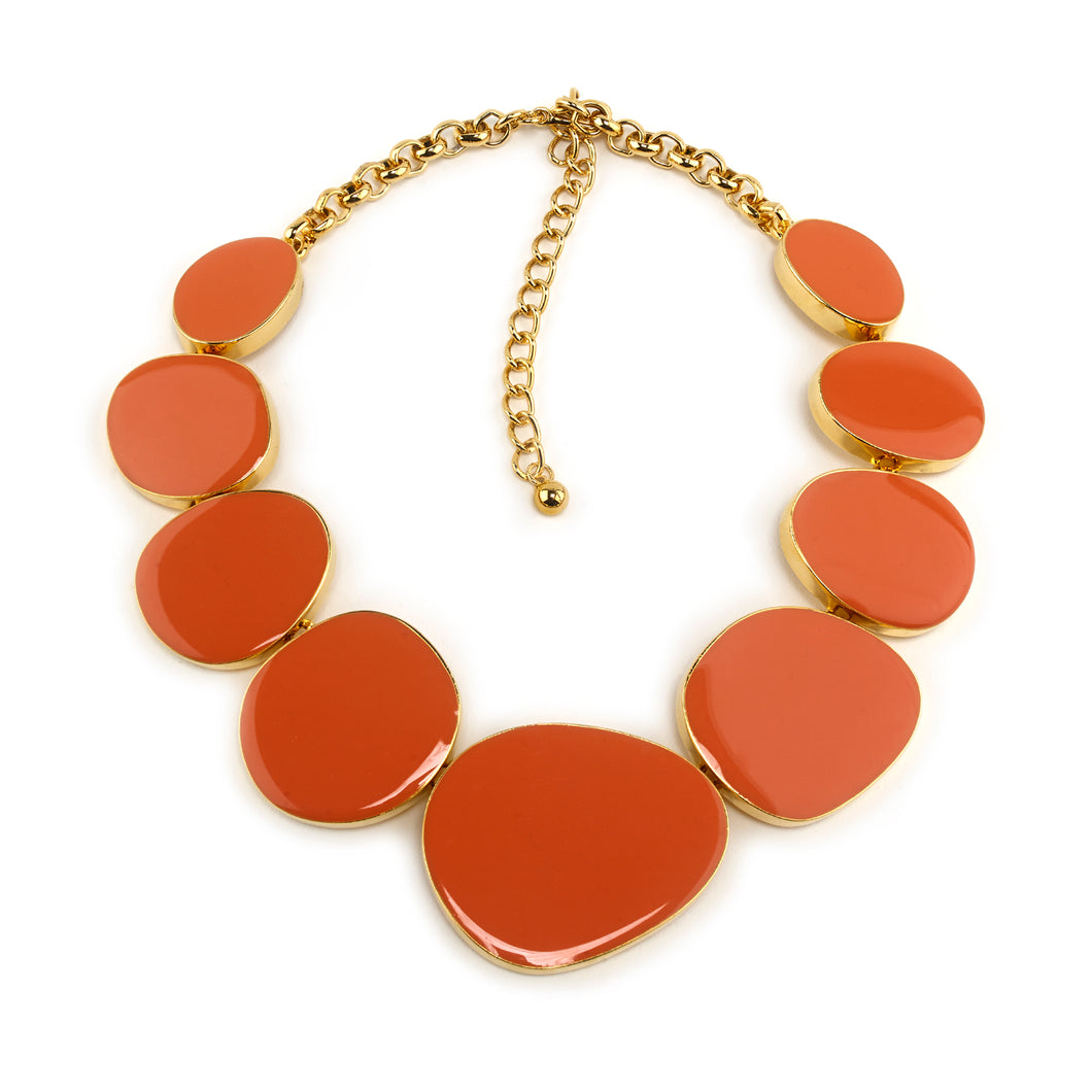 Necklace Coral Pebbles Necklace
